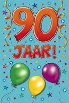 Leeftijdkaart 90 funny age