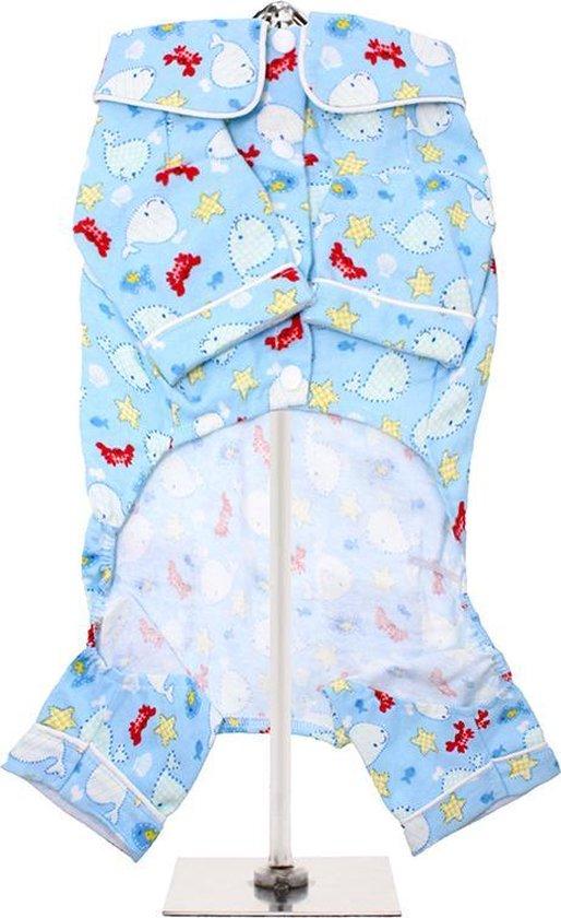 Hondenpyjama Blue Ocean Bedtime XS