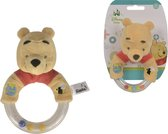 Simba Disney Winnie de Poeh Ring Rattle with Plush