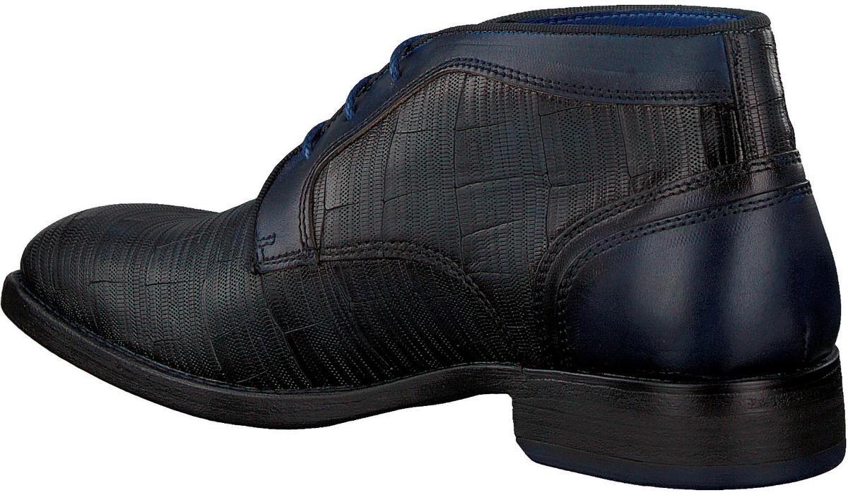 Braend Heren Nette schoenen 25006 - Blauw - Maat 44 Veterschoenen