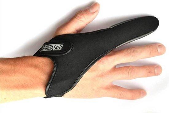 Tronixpro   pro casting glove  werp vinger   maat l
