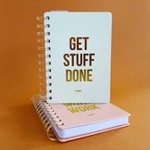 Planner Get stuff done Off white