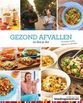 Boek cover Gezond afvallen van Stichting Voedingscentrum Nederl (Hardcover)
