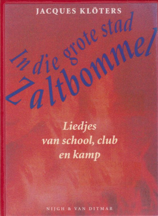 In die grote stad zaltbommel (pocket) - Jacques Kloters |