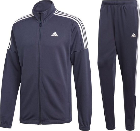 adidas MTS Team Sports Heren Trainingspak - Legend Ink/Legend Ink/White -  Maat M