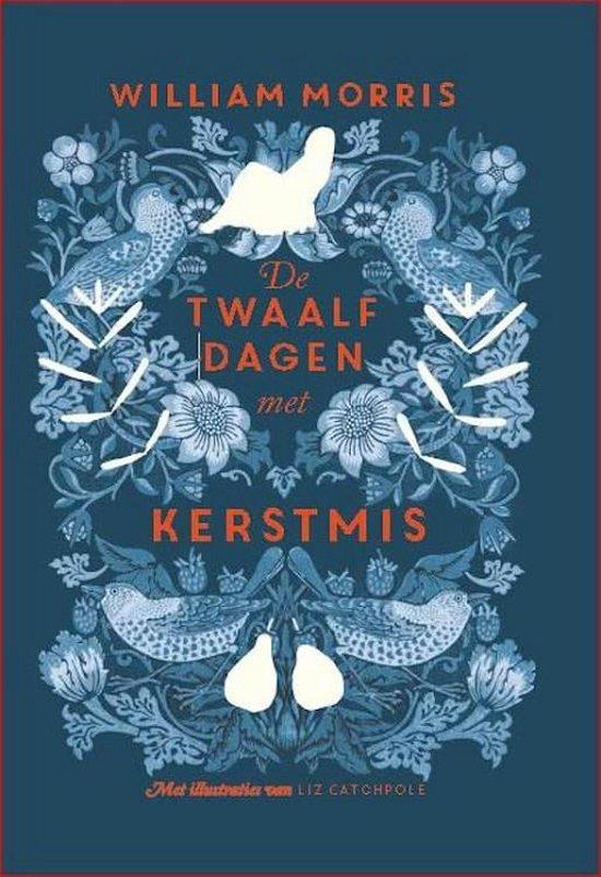 Boek cover De twaalf dagen met kerstmis van William Morris (Hardcover)