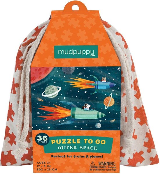 Mudpuppy Puzzle To Go/Outer Space