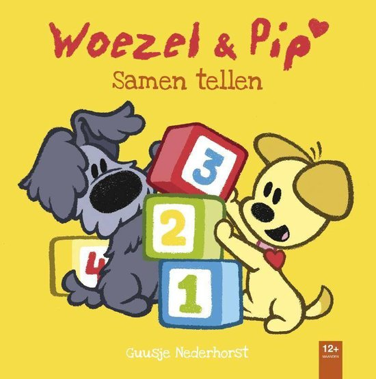 Woezel & Pip - Samen tellen - Guusje Nederhorst  