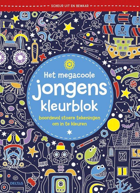 Het megacoole jongens kleurblok - Deltas |