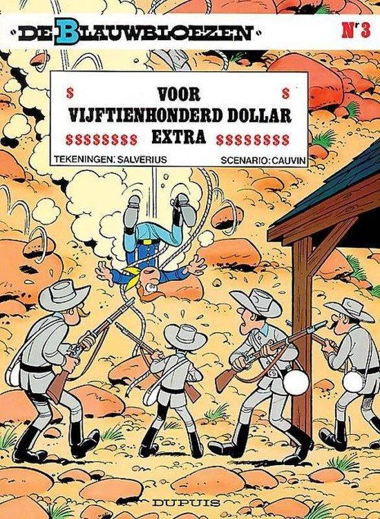 Blauwbloezen 03. voor vijftienhonderd dollar extra (herdruk) - Willy Lambil  