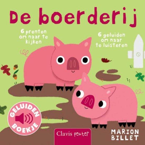 Boek cover De boerderij van Marion Billet (Onbekend)