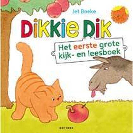 Kinderboeken voorleesboek Dikkie Dik - Het eerste grote kijk- en leesboek