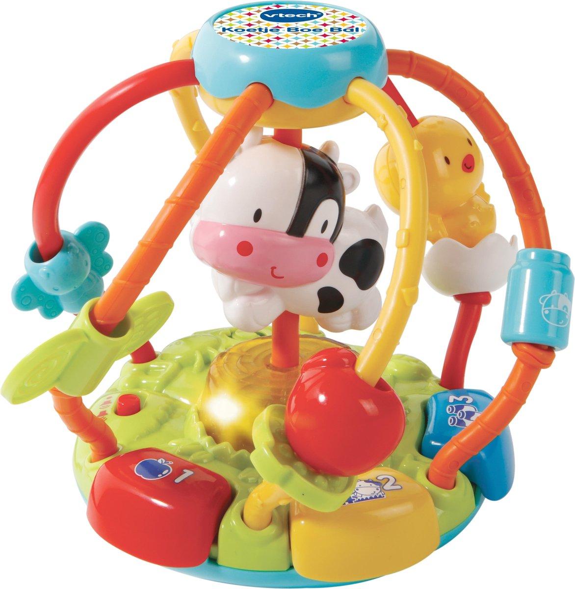 VTech - Baby Koetje Boe Bal - Educatief Babyspeelgoed - 3 tot 24 maanden