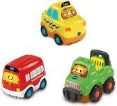 VTech Toet Toet Auto's Trio Pack City - Speelfiguren