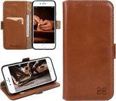 Bouletta Lederen iPhone 6 Hoesje - BookCase - Rustic Cognac