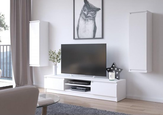 Vitrinekast Tv Meubel.Bol Com Az Home Wandmeubel Alice 30 2 X Vitrinekast Tv