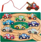 Melissa & Doug - Magnetic Wooden Game - Tow Truck