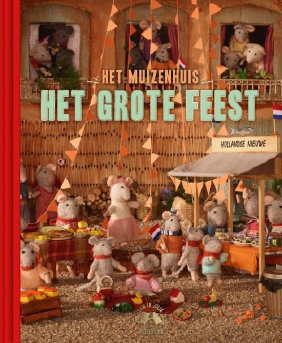 Boek cover Het Muizenhuis  -   Het grote feest van Karina Schaapman (Hardcover)