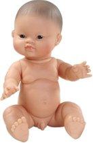 Paola Reina Gordi babypop Aziatische jongen pop  34cm