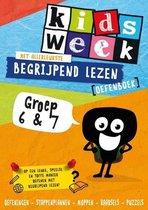 Kidsweek  -  Het allerleukste begrijpend lezen oefenboek Groep 6 en 7