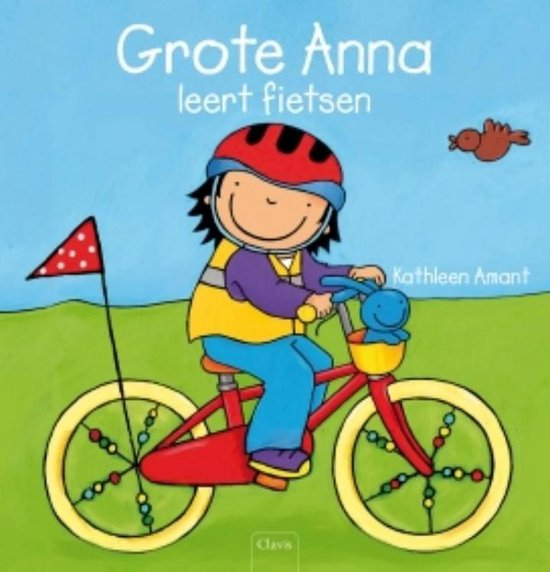 Grote Anna leert fietsen - Kathleen Amant  