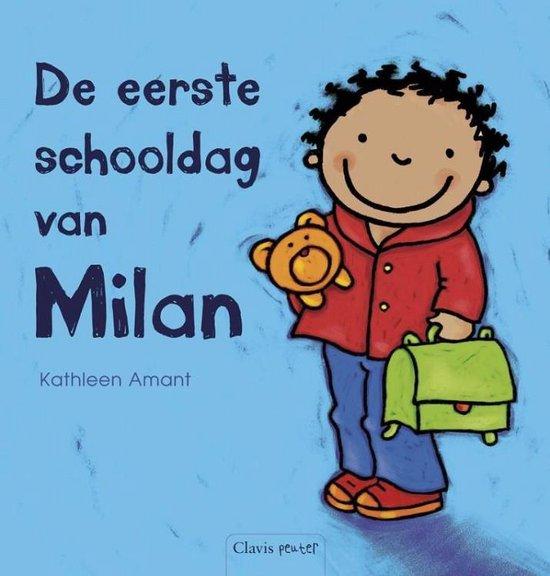 De eerste schooldag van Milan - Kathleen Amant |