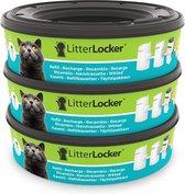 LitterLocker Kattenbakfilter Navulling - 3 St.