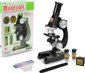 Kindermicroscoop | Kiddy's Microscoop 100X-450X Laboratorium Educatief Speelgoed voor Kinderen | Kinder microscoop