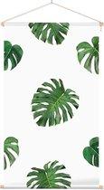 Textielposter Botanisch Bladpatroon 1 - 40 x 70 cm