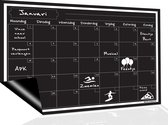 Magnetisch Weekplanner whiteboard (3) - A3 - Planbord - Familieplanner  - Gezinsplanner - To Do Planner