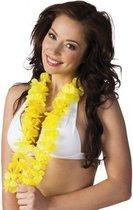 6 gele Hawaii slingers