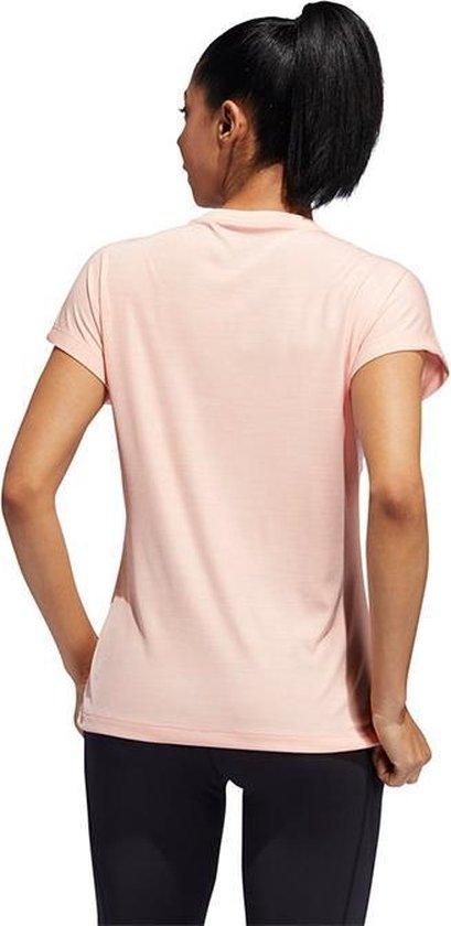 bol.com | adidas BOS shirt dames licht roze/wit