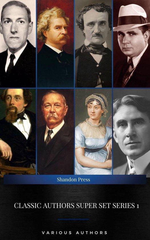 Boek cover Classic Authors Super Set Series 1: (Shandon Press): Mark Twain, Edgar Allan Poe, , H.P Lovecraft,Robert E. Howard... van Mark Twain (Onbekend)