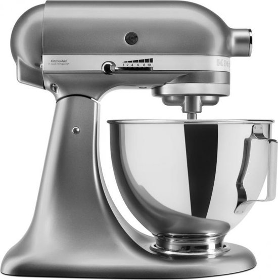 KitchenAid Artisan 5KSM95PSECU - Keukenmachine - Zilver