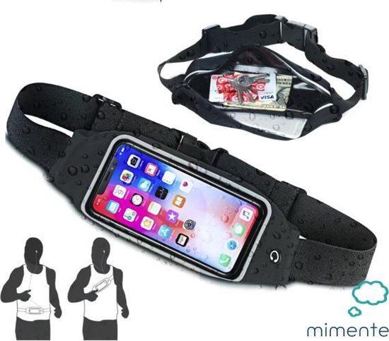 Runningbelt - Smartphone - Hardloop heuptas voor telefoon - Sport heuptas