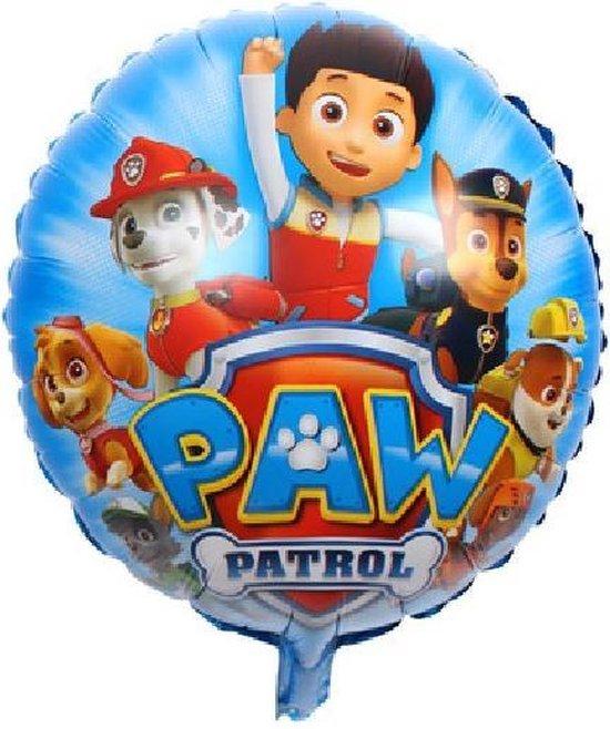 Paw Patrol Helium Ballon Deluxe 43cm leeg