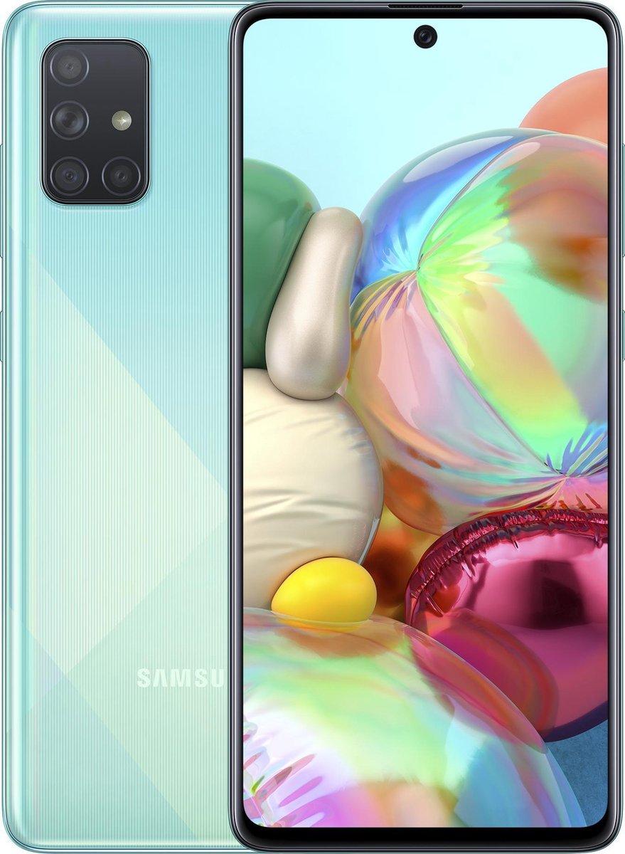 Samsung Galaxy A71 – 128GB – Blauw