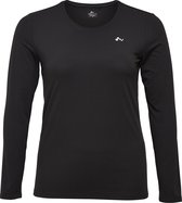 Only Play Curvy Clarissa Dames Sporttop - Black - Maat 48/50