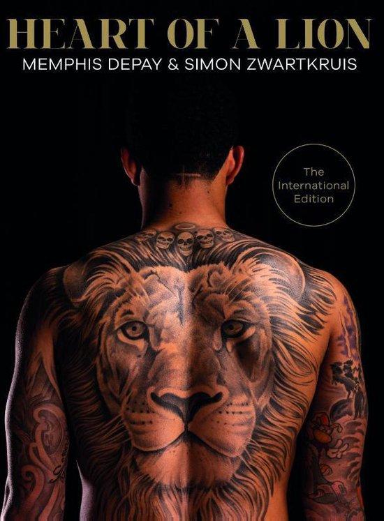 Boekomslag voor Heart of a Lion