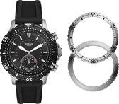 Fossil Garrett Hybrid FTW1190SET  -  Smartwatch - Zwart
