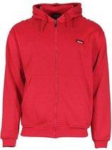 Donnay vest met capuchon - Sportvest - Jongens - Maat 164 - Rood