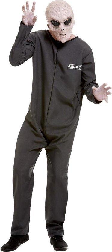 Area 51 Hazmat Suit Costume Grey XL