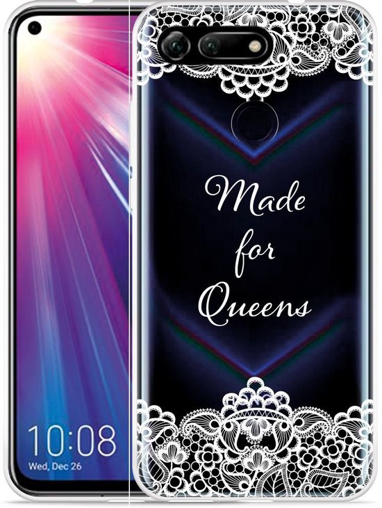 Huawei Honor View 20 Hoesje Made for queens