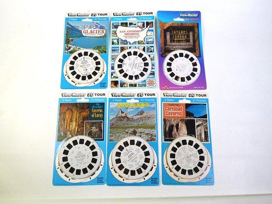 Afbeelding van het spel Viewmaster Amerika 3D, 18 schijven in 6 sets