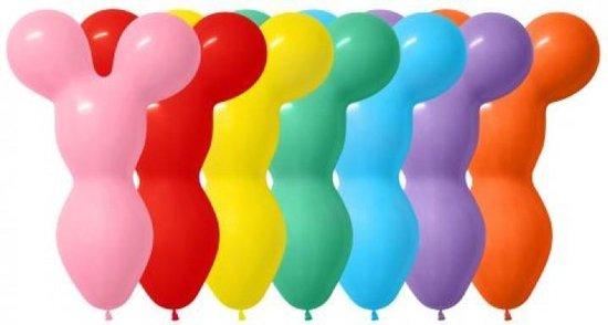 50 Modelleer ballonnen Big bear Head