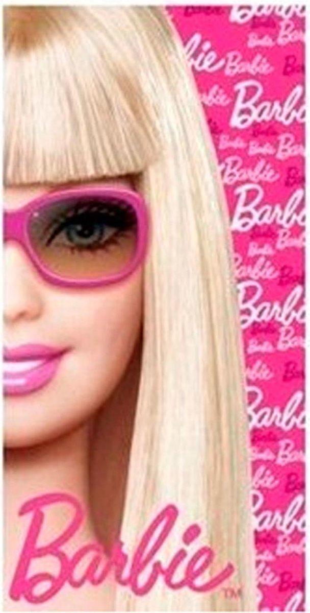 Barbie Badlaken 75x150 cm