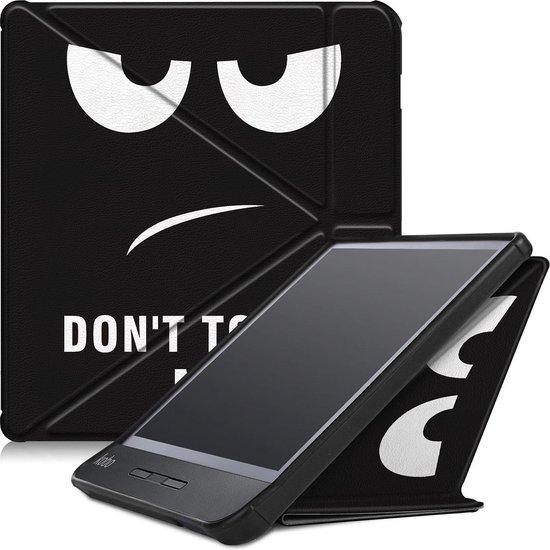 Kobo Libra H2O hoesje - Tri-Fold Book Case - Don't Touch Me