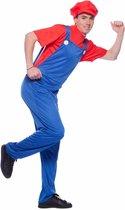 Super Loodgieter Rood Kostuum Volwassenen M / L