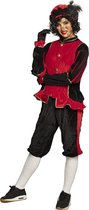 Pieten kostuum volwassenen rood (M) - Carnavalskleding