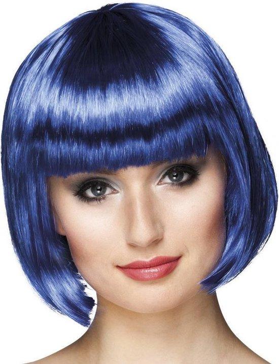Pruik Cabaret - Blue